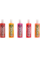 Hot Motion Lotion Flavored Water Based 1 Ounce Assorted 5...